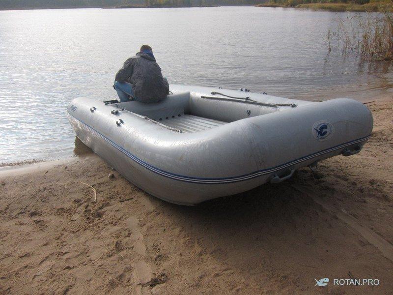 Интерцептор на лодке ротання